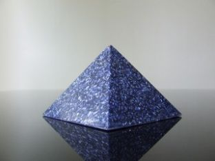 Aquarius Gemstone Birthstone Zodiac Orgone Blue Pyramid